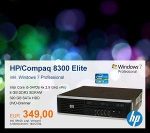 Top-Angebot: HP/Compaq 8300 nur 349 €
