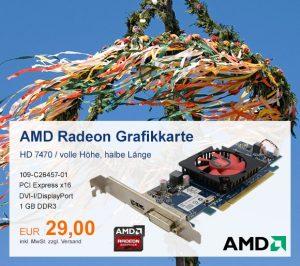 Top-Angebot: AMD Radeon HD 7470 nur 29 €