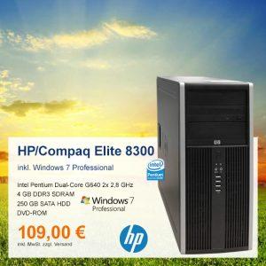 Top-Angebot: HP Compaq Elite 8300 nur 109 €