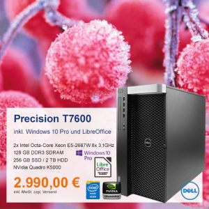Top-Angebot: DELL Precision T7600 nur 2990 €