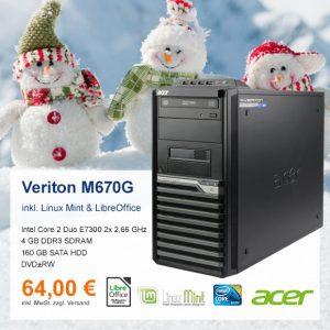 Top-Angebot: Acer Veriton M670G nur 64 €
