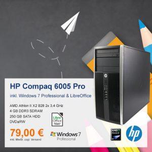 Top-Angebot: HP Compaq 6005 Pro MT nur 79 €