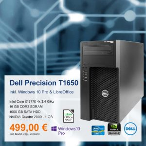 Top-Angebot: Dell Precision T1650 nur 499 €