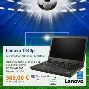 Top-Angebot: Lenovo ThinkPad T440p nur 369 €