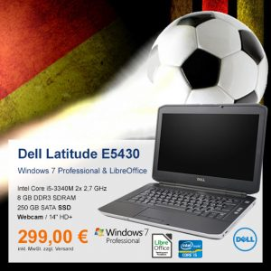 Top-Angebot: Dell Latitude E5430 nur 299 €