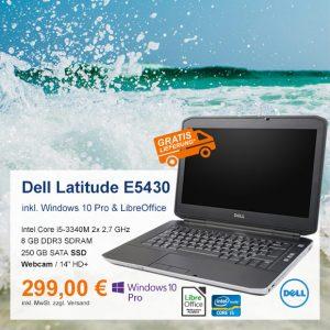 Top-Angebot: Dell Latitude E5430 nur 299 €