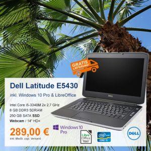 Top-Angebot: Dell Latitude E5430 nur 289 €