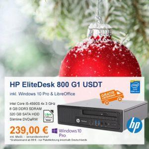 Top-Angebot: HP EliteDesk 800 G1 USDT nur 239 €