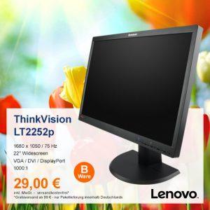 Top-Angebot: Lenovo ThinkVision LT2252p nur 29 €