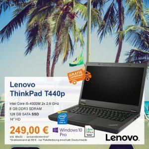 Top-Angebot: Lenovo ThinkPad T440p nur 249 €