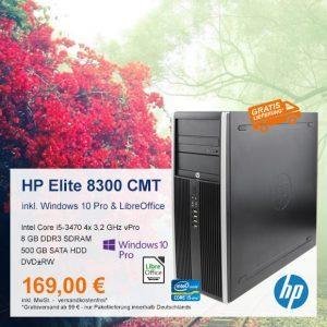 Top-Angebot: HP Compaq Elite 8300 CMT nur 169 €